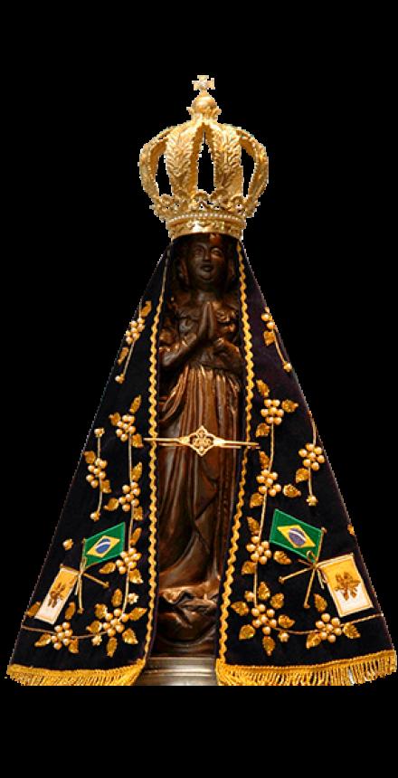 Acenda uma vela para Nossa Senhora Aparecida